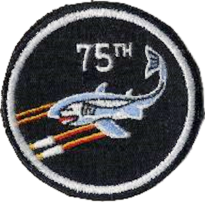 75th Fighter Interceptor Squadron Emblem