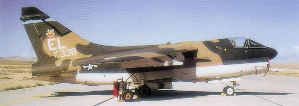 75th Tactical Fighter Squadron A 7D Corsair II 71 0338