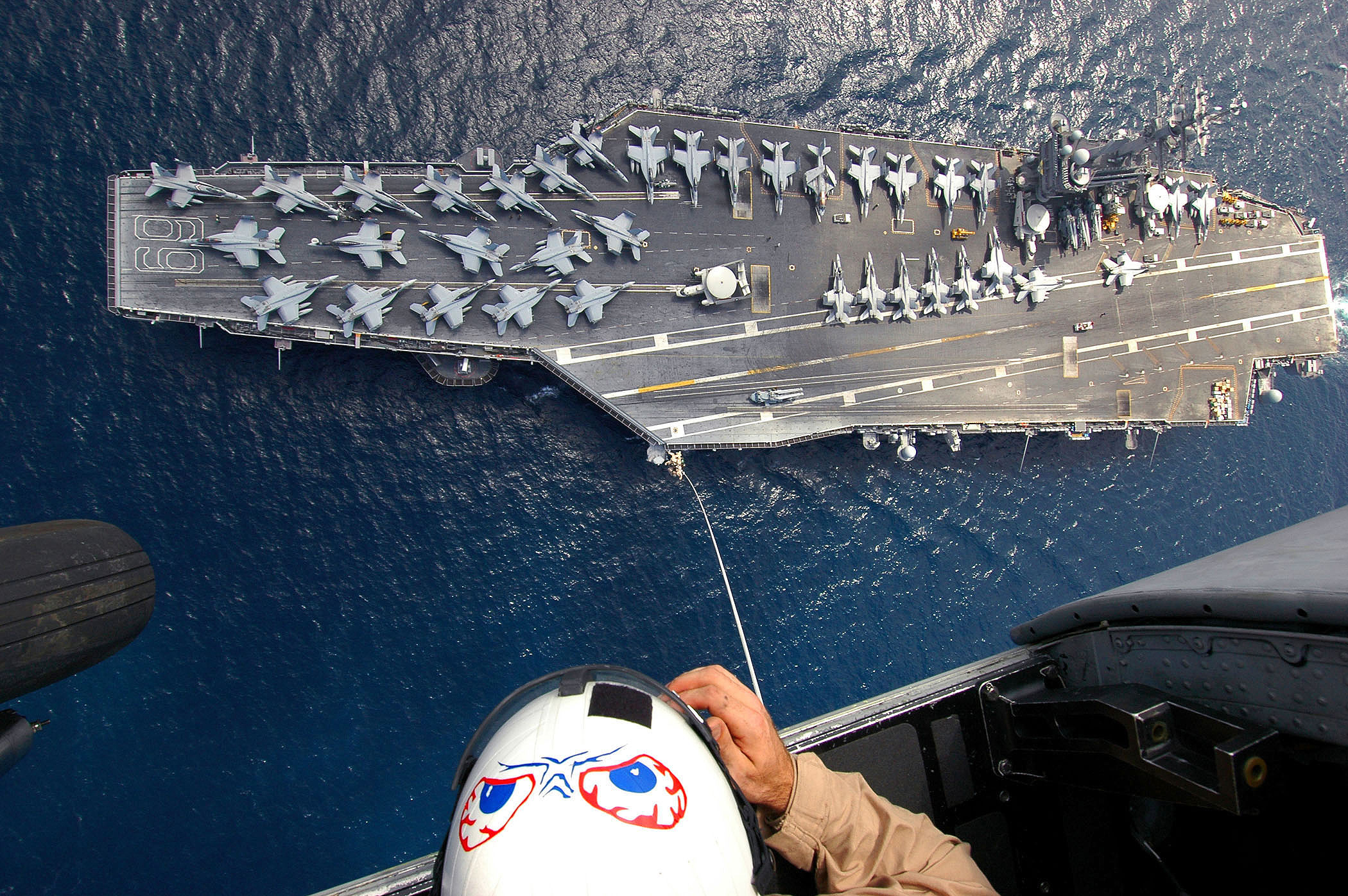CVN 69 SPIE training