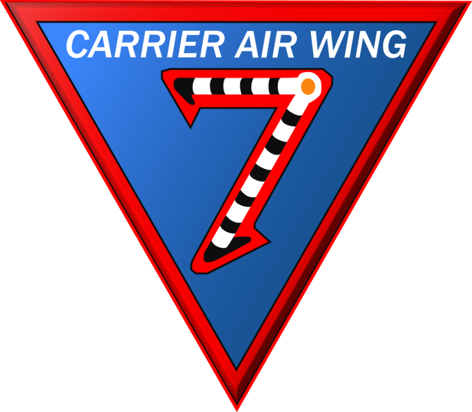 Carrier Air Wing 7 patch US Navy 2015
