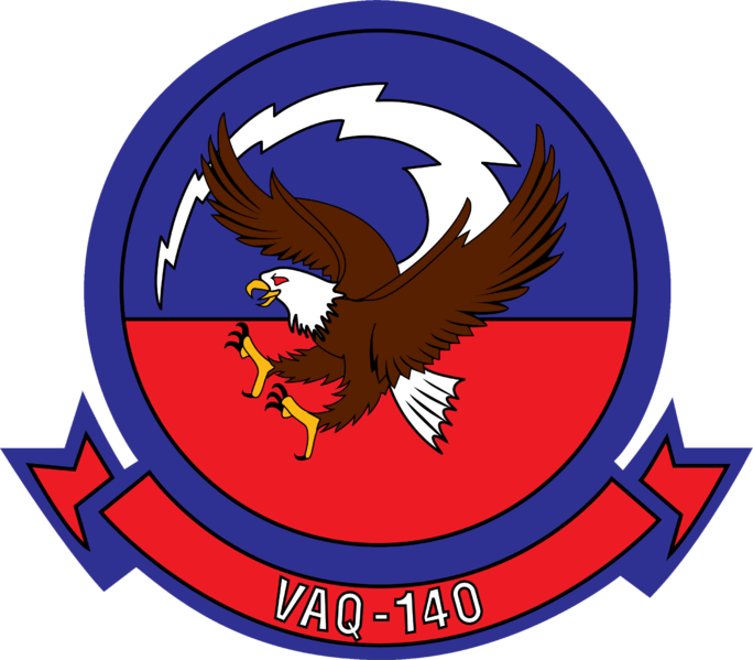 Electronic Attack Squadron 140 US Navy insignia 2015