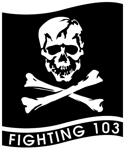 Fighter Squadron 103 US Navy insignia 1995