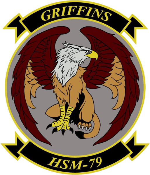 Helicopter Maritime Strike Squadron 79 US Navy insignia 2016