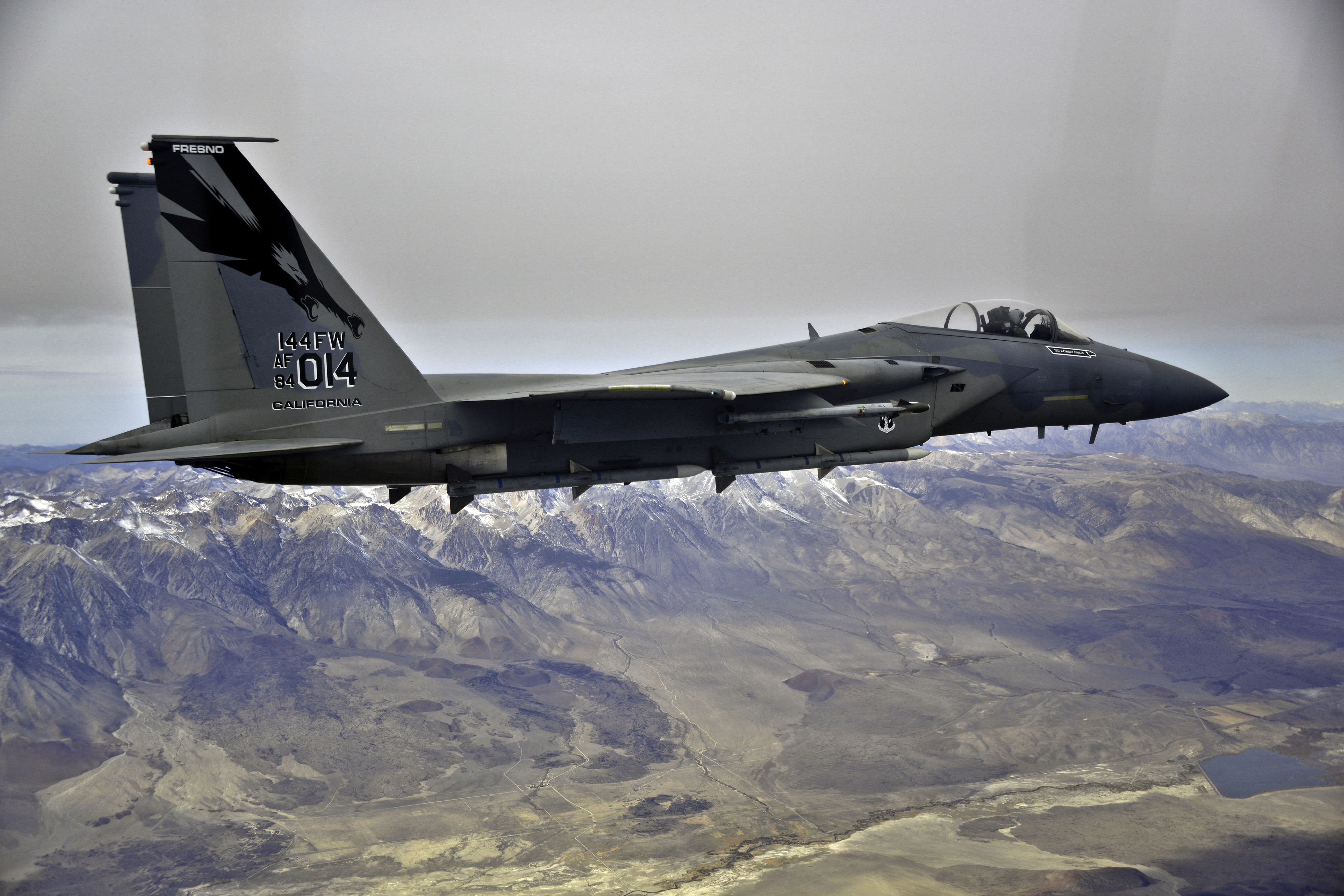 144th FW F 15 Eagle