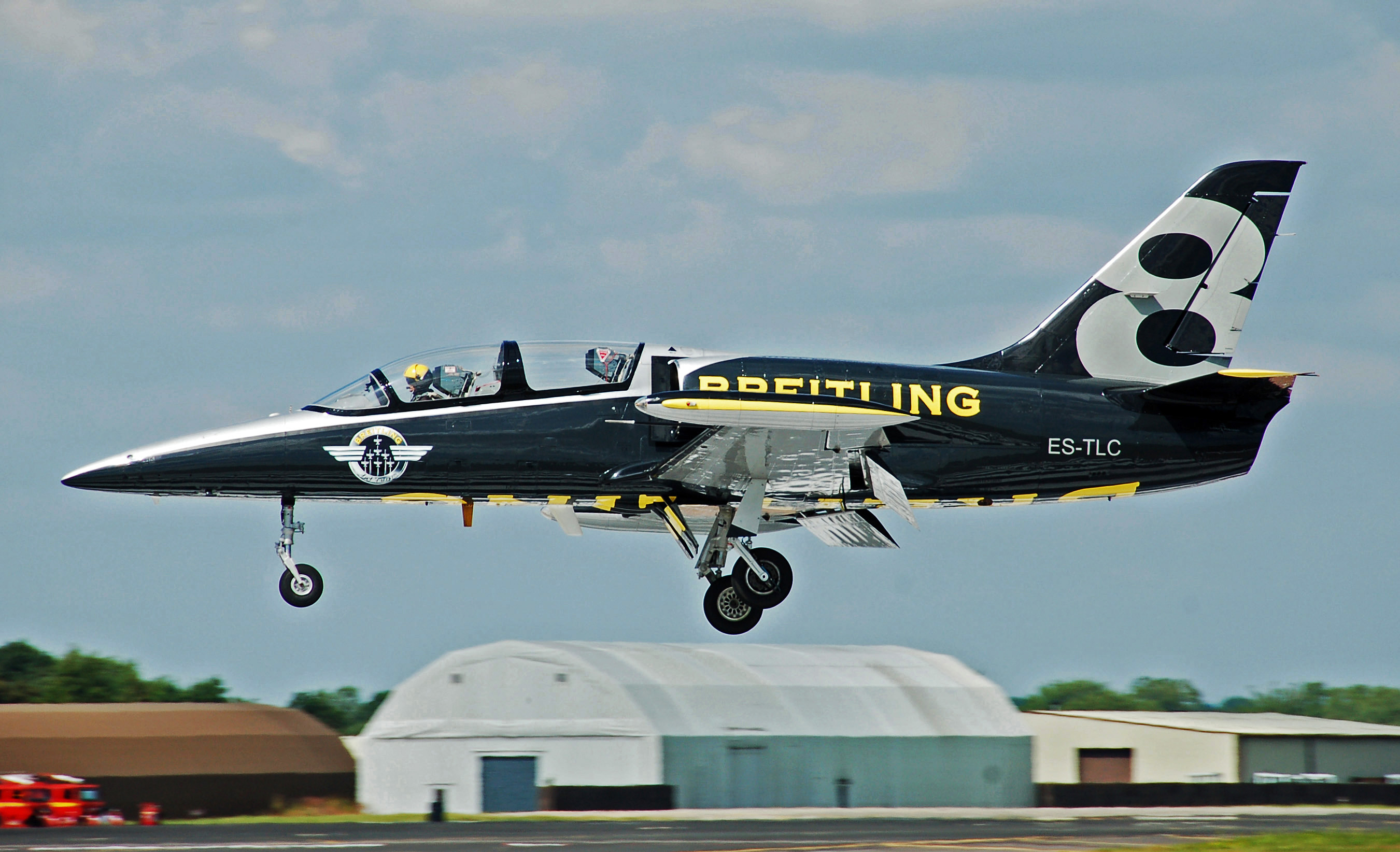 Breitling L 39 Albatros at Fairford RIAT 10July2014 arp